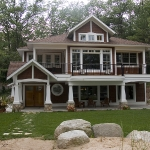 bigstock_michigan_lake_house_on_a_fores_3398957