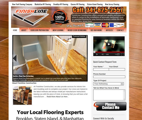 Manhattan New York Flooring Company | Finishline Construction