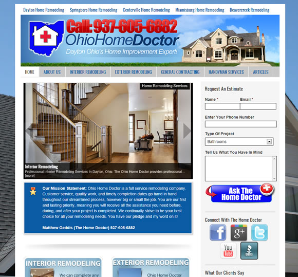 Dayton Ohio Remodeling Contractor