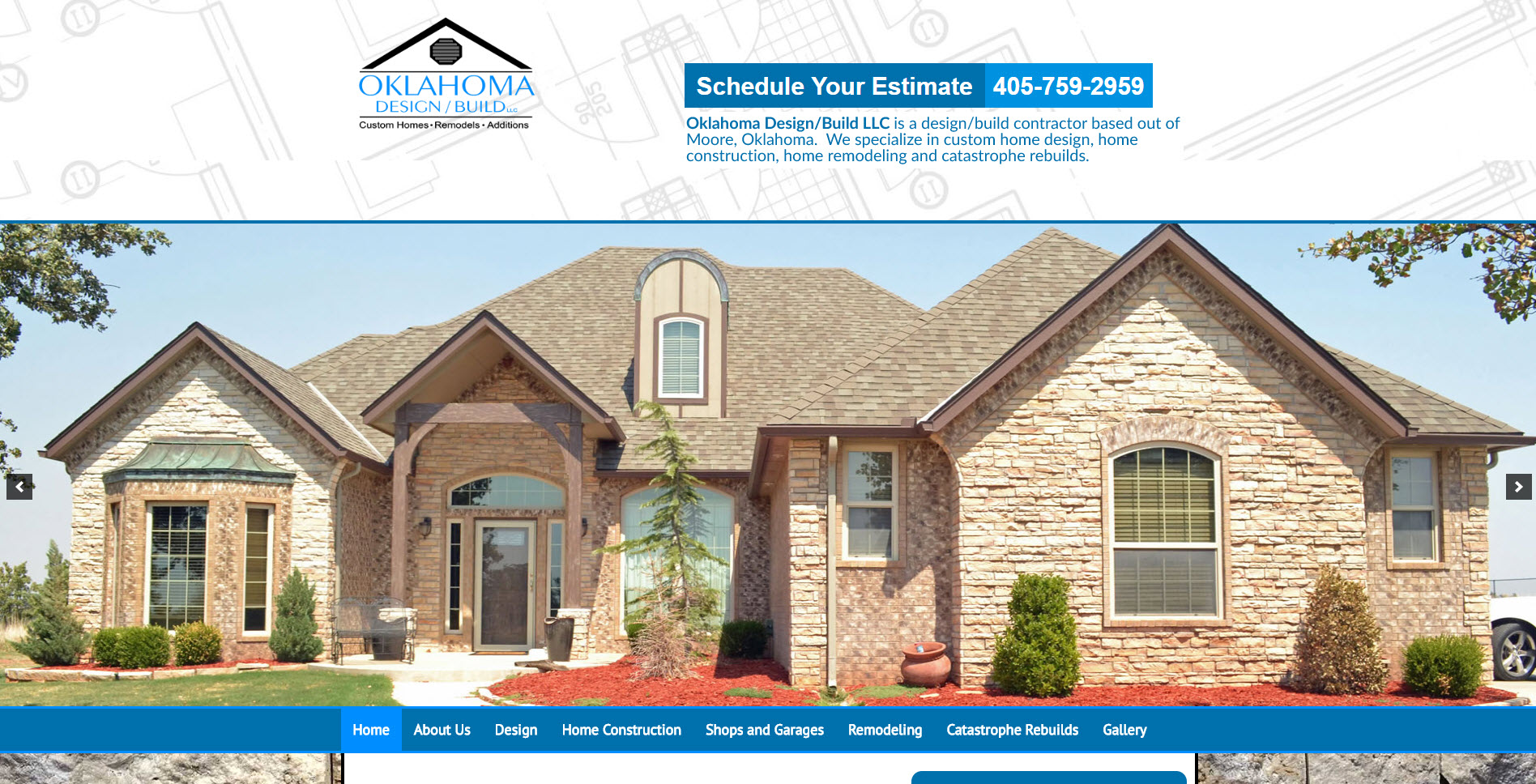 Home Builder Website Oklahoma Design Build   Home Builder Website