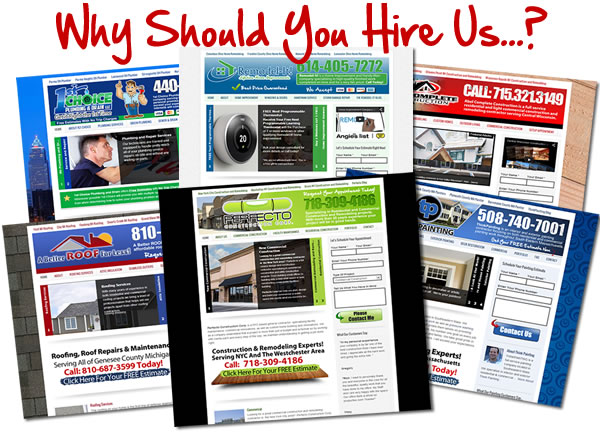 Why Hire Sites4Contractors.Com?