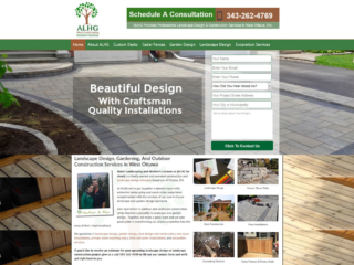 Website Design For Landscape Contractors