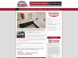 Remodeling Contractor Website Design