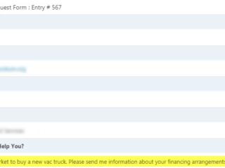 Website case study of a heavy equipment and truck dealer website.