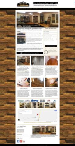Website Design For Hardwood Flooring Companies