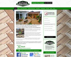 General Contractor Website Case Study