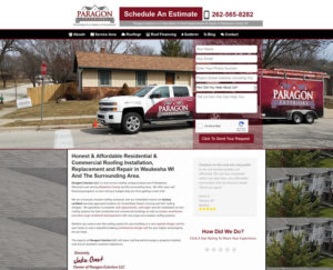Website Design Case Study For Roofing A Contractor