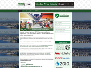 Website Design and SEO For Alarm and Security Companies