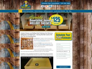 Website Design For Custom Carpentry Contractors