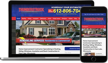 Website Design And Internet Marketing For General Contractors