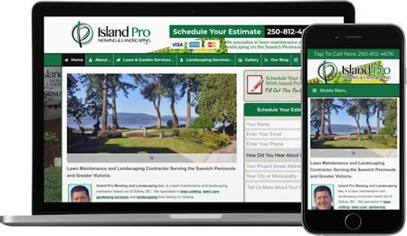Website Design and Online Marketing For Landscape Companies