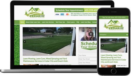 Website Design & Internet Marketing For Lawn Care Companies