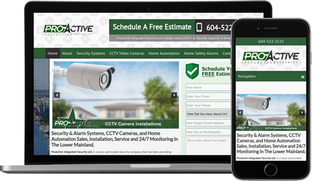 Website Design & Internet Marketing For Security and Alarm Companies