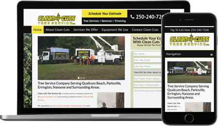 Web Design and Internet Marketing For Tree Care Companies