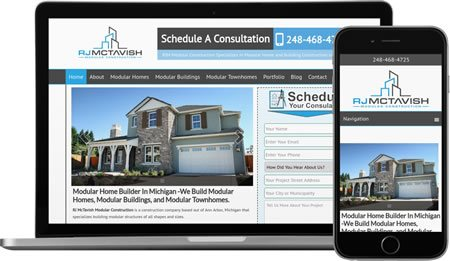 Website Design & Internet Marketing For Home Builders