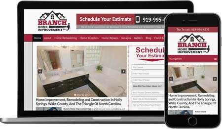 Website Design & Internet Marketing For Remodeling Contractors