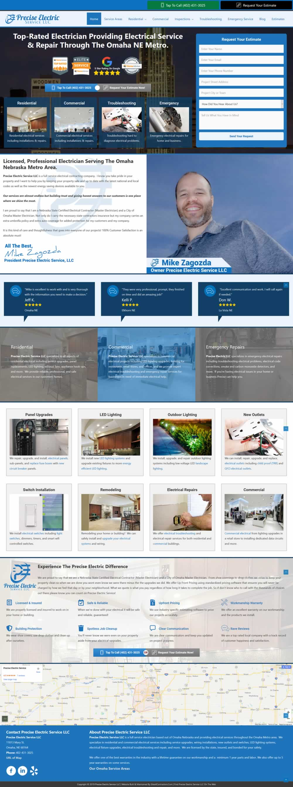 Website Design For Contractors | SEO | Internet Marketing